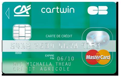 Carte Credit Agricole Jeune