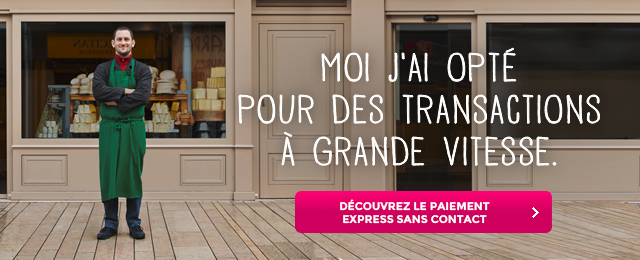 Paiement Express sans contact